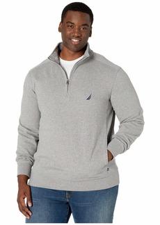 Nautica Big & Tall Fleece Basic 1/4 Zip
