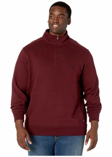 Nautica Big & Tall Fleece Basic 1/4 Zip