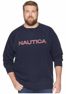Nautica Big & Tall Fleece Graphic