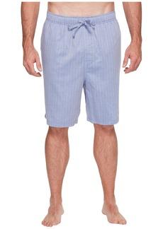 Nautica Big & Tall Herringbone Sleep Shorts