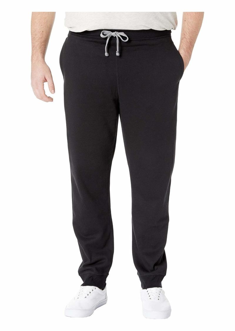 Nautica Big & Tall Knit. Pants w/ Rib Cuff
