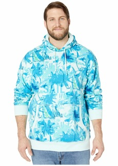 Nautica Big & Tall Long Sleeve Hooded Pullover Knit
