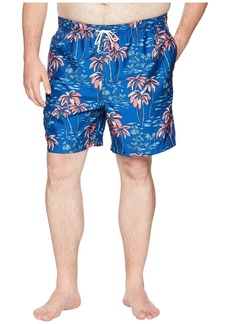 Nautica Big & Tall Palm Tree Print Trunk