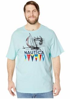 Nautica Big & Tall Short Sleeve Graphic Tee