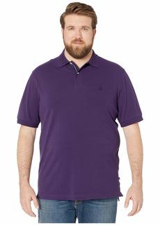 Nautica Big & Tall Short Sleeve Solid Deck Shirt