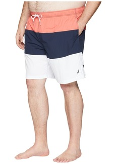 Nautica Big & Tall Tricolor Block Trunk