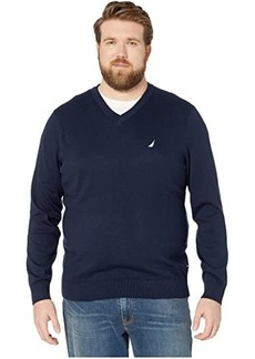 Nautica Big & Tall V-Neck Navtech Knit Sweater
