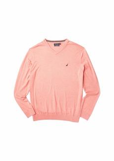 Nautica Big & Tall V-Neck Navtech Sweater