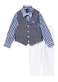 Nautica Braided Texture Vest Set (Toddler Boys)