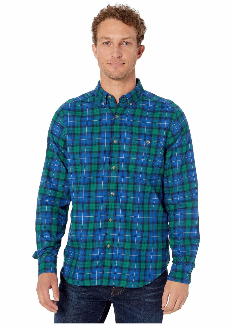 Nautica Brushed Twill Woven Shirt