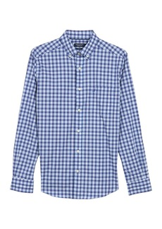 Nautica Check Print Long Sleeve Shirt