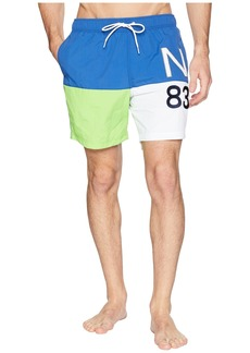 Nautica Color Blocked Swim Trunk