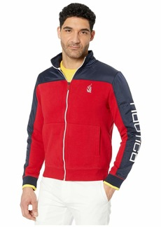Nautica Color-Blocked Track Jacket