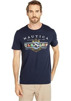 Nautica Colored Flags Graphic Tee