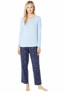 Nautica Cotton Flannel Pajama Set