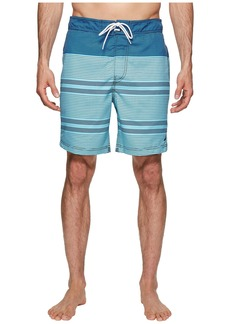 Nautica Engineer Stripe Swim Trunk