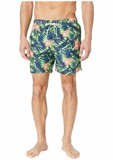 Nautica Floral Print Swim Trunk