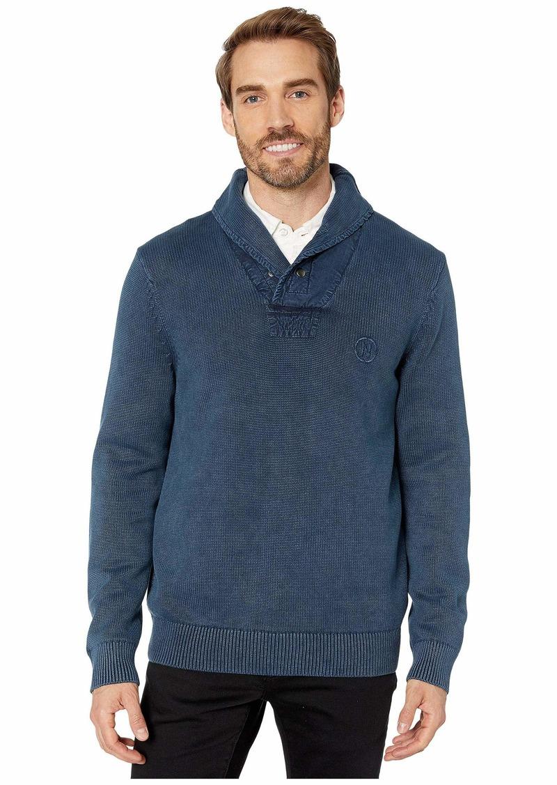 Nautica Garment Enzyme Wash Sweater