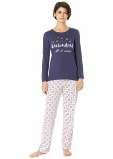 Nautica Graphic Pajama Set