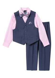 Nautica Heathered Poplin Vest Set (Toddler Boys)