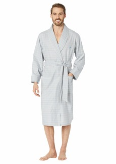 Nautica Windowpane Plaid Robe