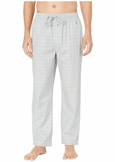 Nautica Windowpane Plaid Sleep Pants