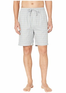 Nautica Windowpane Plaid Sleep Shorts