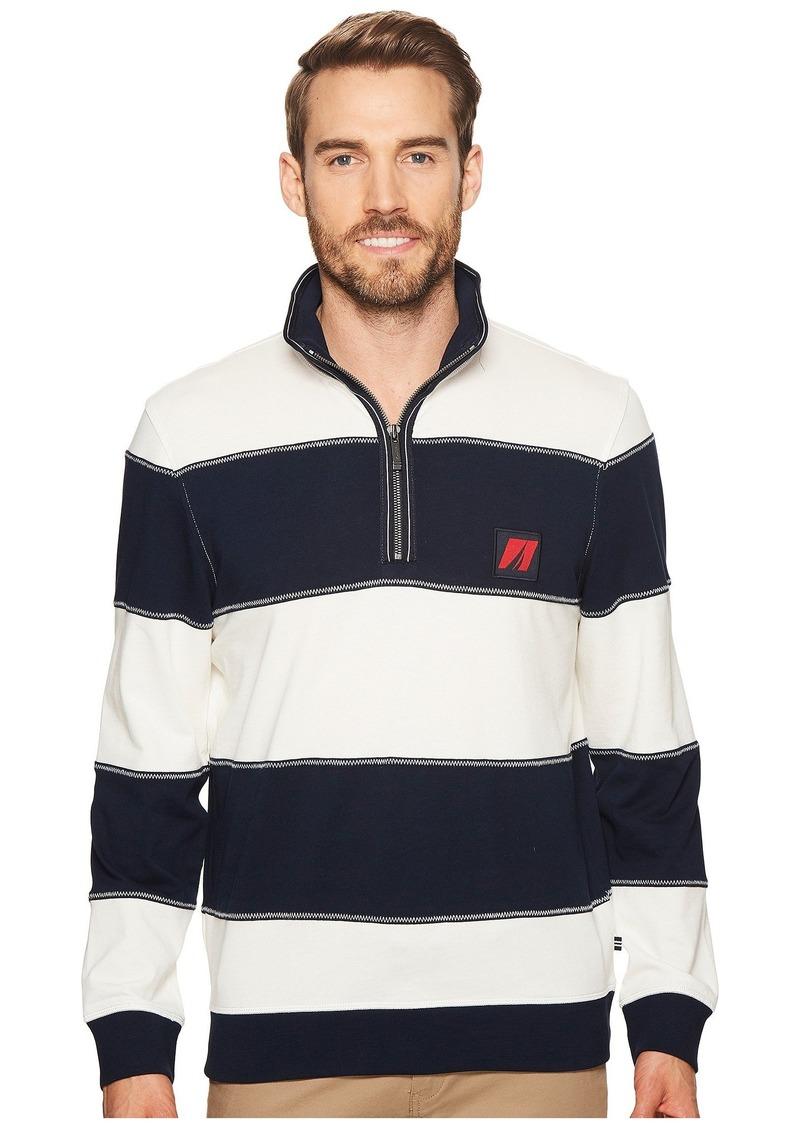 Nautica Long Sleeve 1/2 Zip Pullover Sweater