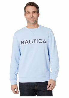 Nautica Long Sleeve Crew Solid
