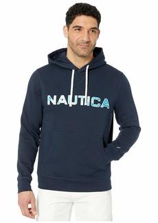 Nautica Long Sleeve Hoodie Top