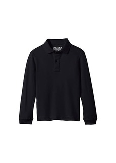 Nautica Long Sleeve Pique Polo (Little Kids)