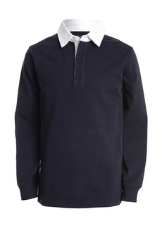 Nautica Long Sleeve Rugby Shirt (Little Boys)