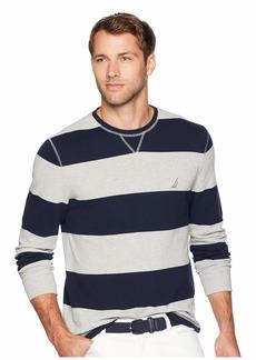 Nautica Long Sleeve Rugby Stripe Sweater