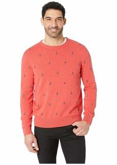 Nautica Maritime Embroidered Crew Neck Sweater