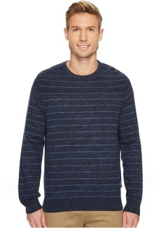 Nautica 9 Gauge Stripe Crew Sweater