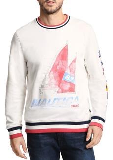 Nautica Artist Series Crewneck Cotton Pullover