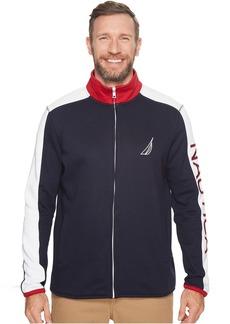 Nautica Big & Tall Logo Full Zip Jacket