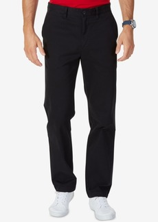 Nautica Big and Tall Men's Pants, Anchor Flat Front Twill Pants