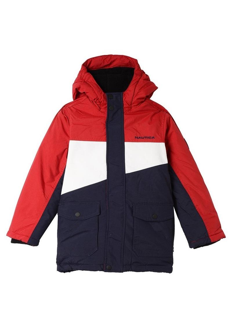 797519d79 Nautica Nautica Big Boys' Colorblock Snorkle Jacket Small (8 ...