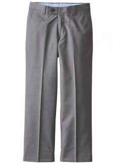 Nautica Big Boys' Herringbone Solid Pant