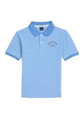 Nautica Little Boys' Short Sleeve Colorblock Deck ShirtSmall (4)