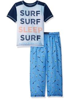 Nautica Big Boys' Sleep Surf 2 Piece Pajama Set  XSmall
