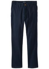 Nautica Big Boys' Uniform Flat Front Twill Pant  8