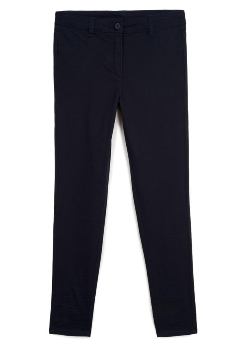 Nautica Big Girls School Uniform Sateen Pants