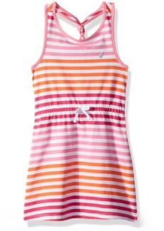 Nautica Big Girls' Stripe Knit Dress