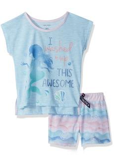 Nautica Big Girls' Washed up Like This Short Pajama Set