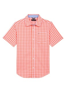 Nautica Boy's Gingham Cotton Blend Shirt