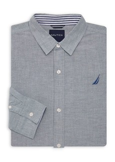 Nautica Boy's Imperial Oxford Shirt