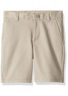 Nautica Boys' Little Flat Front Twill Short su Khaki