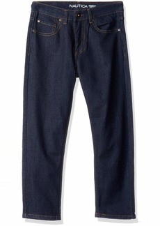 Nautica Boys' Little Slim Straight Jeans